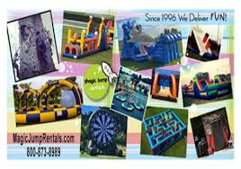 Backyard Staycations Magic Jump Rentals Is Must Have For Staycations Macaroni Kid