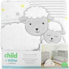 Carters Baby Bedding Sets S Child Of Mine Sheep Family 3 Crib Bedding Set