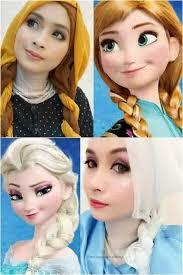 tutorial jilbab ala ivan gunawan model hijab ala tokoh kartun eenendangsarielmuhyiblog