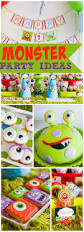 1st Birthday Halloween Party Ideas by Best 25 Monster Party Ideas On Pinterest Monster Party Food 1st