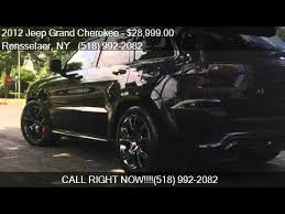 jeep srt8 hennessey for sale 2012 jeep grand srt8 for sale in rensselaer ny 121