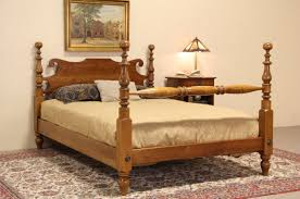 Poster Bed by Sold Stickley Ny Cherry U0026 Maple Vintage Full Size Poster Bed