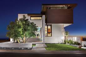aia award winning home by horst architects front side home