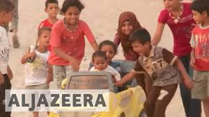 iraq thousands of children at risk in mosul conflict youtube