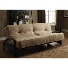dhp madrid tan futon 3197098 the home depot