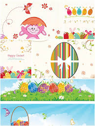 bright festive easter greeting cards free