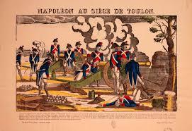 siege de image d epinal représentant napoléon bonaparte au siège de toulon de