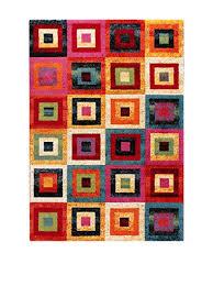 abc italia tappeti abc tappeto gioia a multicolore 60 x 110 cm it casa e cucina