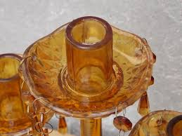 Amber Chandelier Tall Amber Glass Chandelier Table Candelabra I Like Mikes Mid