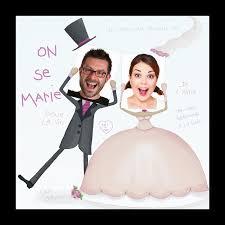 mariage humoristique faire part de mariage photos identités dans mariés rigolos jk