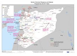 Maps Syria by Ynetnews News Israeli Report Maps Assad U0027s Chemical Arsenal