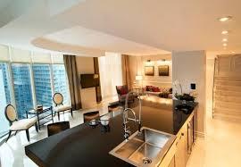 penthouse kitchen living room picture of soho metropolitan