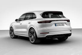 porsche white car how porsche says it will make the 2019 cayenne the best suv ever