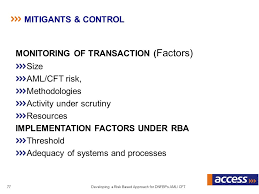 Willful Blindness Aml Developing A Risk Based Approach For Dnfbps On Aml Cft Ppt Download