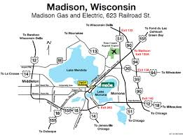 Wisconsin travel directions images Travel directions madison gas and electric careers madison jpg