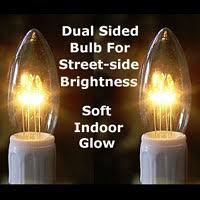 gold pewter window candles battery operated candles