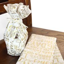 gift wrap tissue paper white gold wedding gift wrap tissue paper pipii