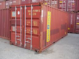 interglobal 20 foot storage and shipping containers