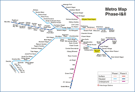 Green Line Metro Map by Delhi Metro Page 181 Skyscrapercity