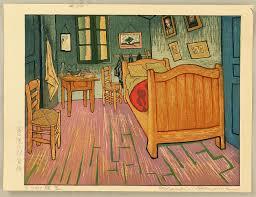 chambre de gogh okuyama gihachiro bedroom in arles la chambre arles gogh