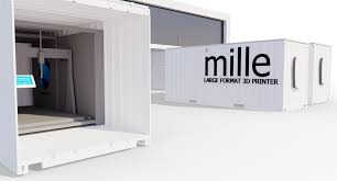 mille 3d printer unveiled u2013 turns shipping containers into large