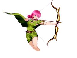 clash of clans archer queen clash of clans archer by jugapugz on deviantart