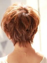 short hair with shag back view short hair styles back view stacked hairstyles pinterest