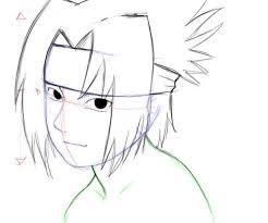 naruto characters sasuke uchiha drawing factory
