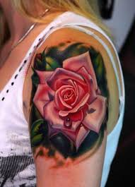 rose tattoos are bloomin u0027 body art tattoo articles ratta tattoo