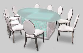 mashrabiya opal dining table is available for rent or sale in