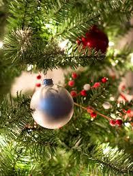 red u0026 white christmas tree decor