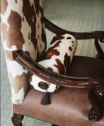 147 best eclectic cowhide decor images on pinterest cowhide