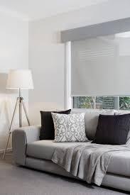 modern bedroom blinds inspirations including grey coloured pelmet