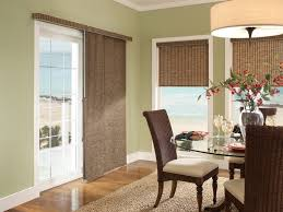 window coverings for sliding glass doors in kitchen multicolored breakfast nook with orange table the cozy breakfast