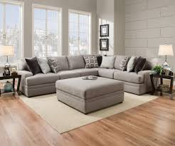 Online Furniture Le Chateau 8561 Simmons Beautyrest Sectional Sofa Grey Sectional