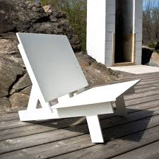 Outdoor Furniture Made From Recycled Materials by A Chair Made From Recycled Milk Jugs Evolo Architecture Magazine