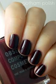 occ black dahlia winter 2013 2014 nail polish trends pinterest