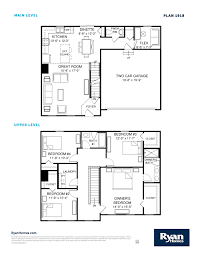 us homes floor plans ryan homes