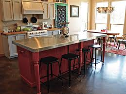 kitchen diy kitchen island ideas with seating pot racks toasters