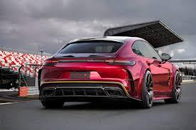 Porsche Panamera Custom - mansory manages to make the porsche panamera even uglier
