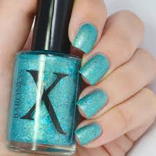 mermaid madness turquoise mermaid polish w shimmer and glitter