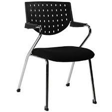 chaise de bureau design chaise de bureau design colombia noir 61x54x84 pier import