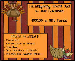 thanksgiving cards for with vocabulary card