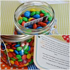 m u0026m jar 24 cute and clever ways to give a gift card diy