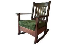 Mission Oak Rocking Chair Mission Oak Rocker J M Young 1910 Omero Home