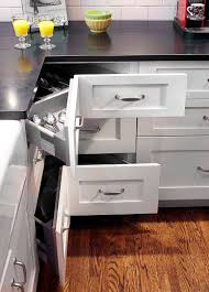 Kitchen Cabinet Drawer Construction by 30 Corner Drawers And Storage Solutions For The Modern Kitchen