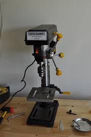 Fine Woodworking Benchtop Drill Press Review by Harbor Freight 44836 Drill Press Review Tool Animal