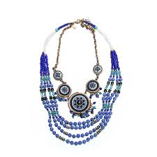 multi bead necklace images Bohemian multi strand beads necklaces jpg