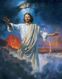 christ creating the earth by robert t barrett