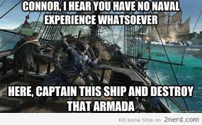 Funny Assassins Creed Memes - assassin s creed 3 logic2 nerd 2 nerd2 nerd